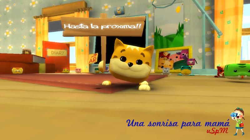 Cupet mascota virtual mensaje