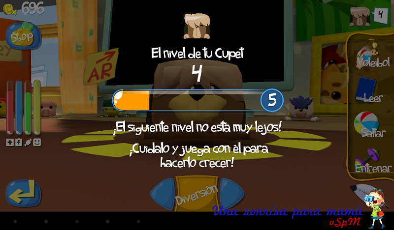 Cupets niveles