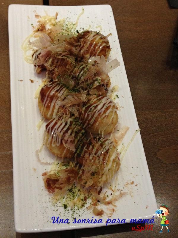 takoyaki comida japonesa