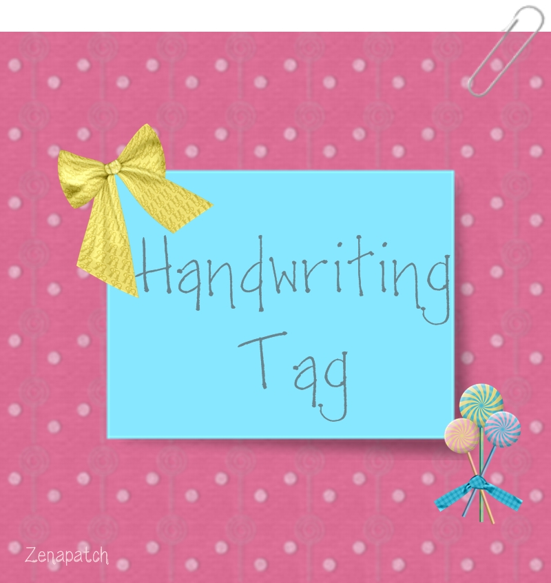 Iniciativa wandwriting tag