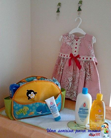 Champu gel y crema culete johnsons baby para niños