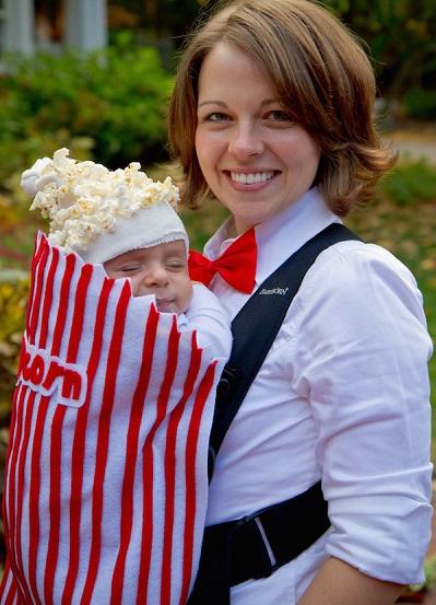 Disfraz original para bebé y mamá