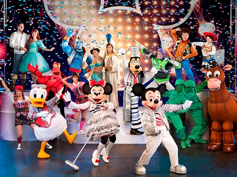 Disney Live Mickey Music Festival