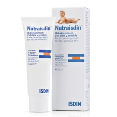 Crema facial hidratante de nutraisdin