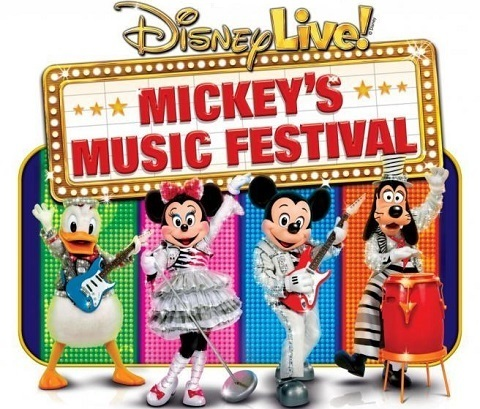 espectaculo Disney Live Mickey's Music Festival