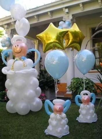 muñecos hechos con globos