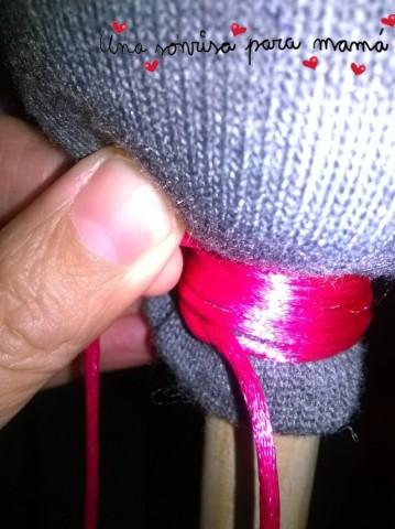 hacer juguete con calcetin reciclado