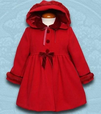 abrigo moda para nena