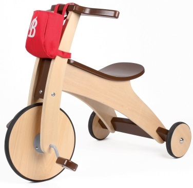 triciclo de madera para bebes