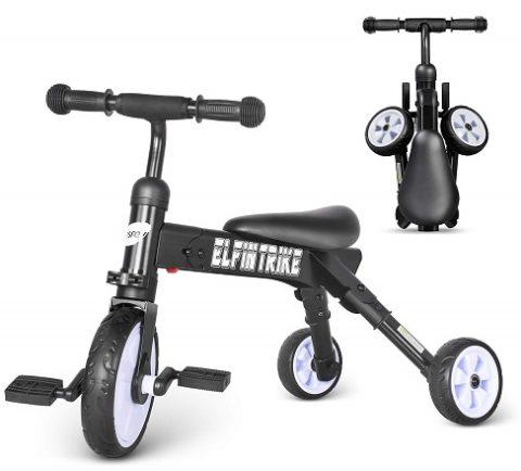 triciclo plegable para niño