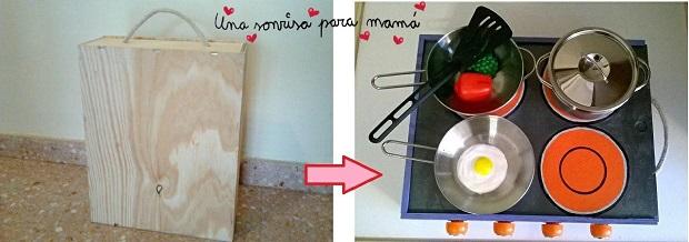 La imagen tiene un atributo ALT vacío; su nombre de archivo es hacer-cocina-de-madera-para-ninos-con-caja-de-vinos.jpg